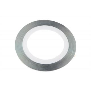 Ozdobná páska stříbrná 1 mm