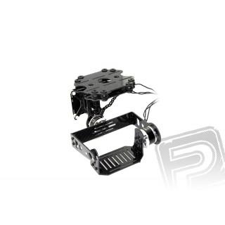 Sada uhlíkového závěsu kamery GoPro s motory a elektronikou