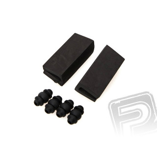 Tlumící gumy + samolepící kryt akumulátoru pro Inspire