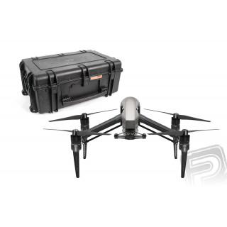 Inspire 2 bez kamery + Přepravní kufr s vnitřní pěnovou výplní na kolečkách