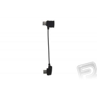 Kabel k dálkovému ovládání Micro USB převrácený (Mavic)