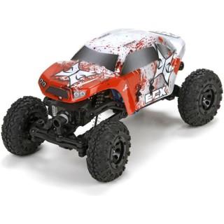 ECX Temper Crawler 1:24 RTR červeno bílý
