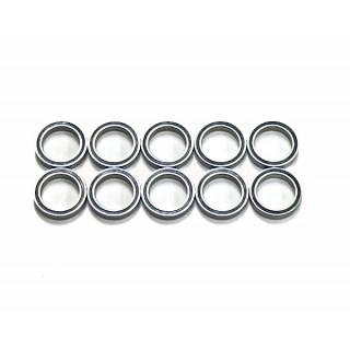 Kuličkové ložiska 15x21x4 mm (10 ks)