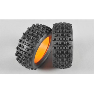 GRP 1:6 Buldog gumy s vložkami, směs X/Extra soft, 2ks