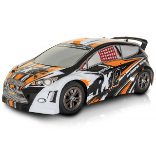 RX-12 elektro Rally auto - 2.4GHz RTR - oranžový (2wd)