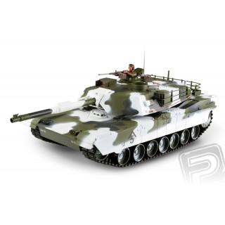 M1A1 Abrams 1:16 RC tank 2.4GHz - zimní verze