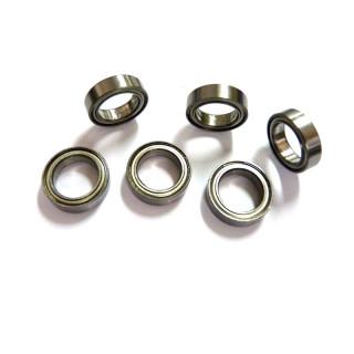 Kuličkové ložisko 10x15x4 mm (6 ks)