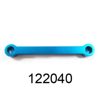 Alu akerman spojovací tyč, modrá, 1ks.