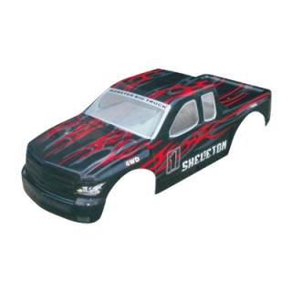 Karoserie Monster Truck 1:5, černo-červená