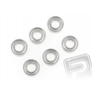 Kuličkové ložisko 5x10x4 mm (4 ks)