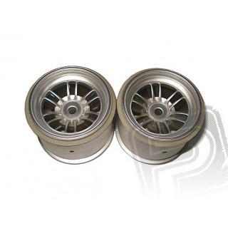 Disk kola, FT01 (stříbrné/zadní/2ks)