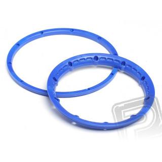 Pojistný kroužek kola, modrý 2ks