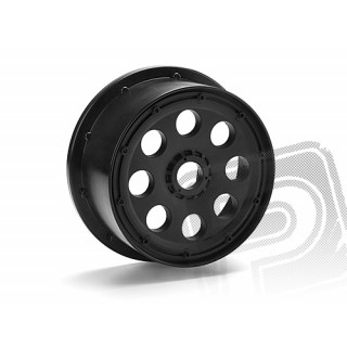 OUTLAW disky černé (120x60mm/-4mm OFFSET/2ks)