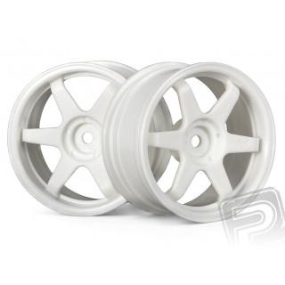 Disky kol bílé 26mm/3mm offset (pár)