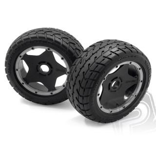 Nalepené pneu TARMAC BUSTER RIB, M směs (přední)