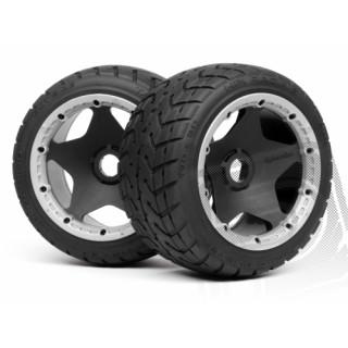 Nalepené pneu TARMAC BUSTER RIB,M směs (Zadní)