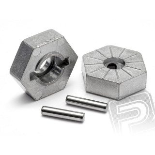 Unašeč kola 17mm (stříbrné) SAVAGE X