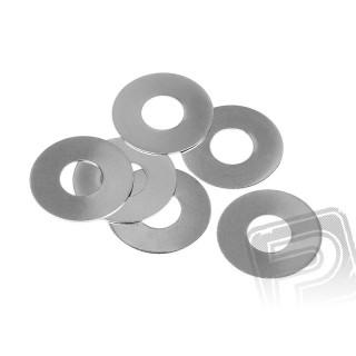 Podložka 6x15x0.2mm (6ks)