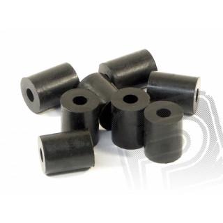 Vymezovací trubka 3x8x10mm, (černá,8ks.)