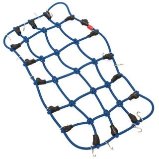 Bezpečnostní a upěvňovací síť pro expediční auta (190x100mm) - modrá