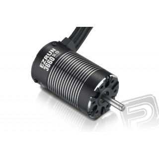 EZRUN SL Motor 3660 4600KV G2 - černý - včetně pastorku 21 zubů/48DP