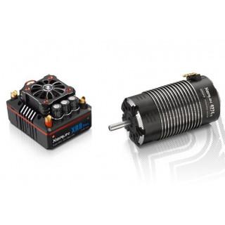 COMBO XR8 PLUS s XERUN 4268SD 1600Kv - G2 - černý