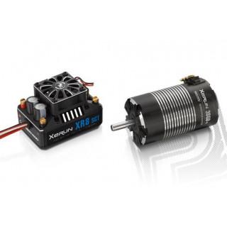 COMBO XR8 SCT s XERUN 3660 SD 4300Kv - G2 - černý - včetně 21z/48DP pastorku