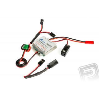 UBEC 8A 2-3S LiPo stabilizátor napětí