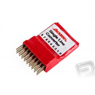 Multiplexer/Bezdrátové rozhraní pro RC simulátory