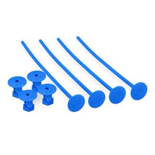 Držáky 1/10 Off road gumy, modré - 4ks.
