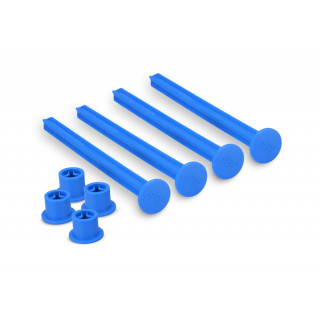 Držáky 1/8 Off road gumy, modré - 4ks.