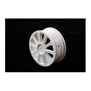 Rulux - 1/10 B44 přední disky - bílé