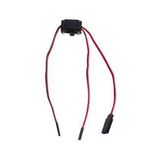 Vypínač s nabíjecí zdířkou/kabelem - JR