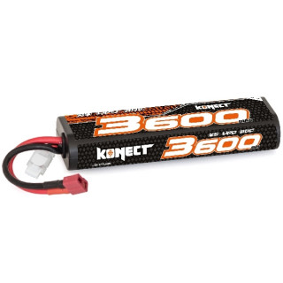 KONECT LiPo 3600mah 7.4V 30C 2S1P 26,6Wh (T-Dean )