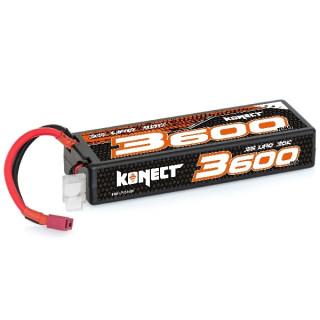 KONECT LiPo 3600mah 11.1V 30C 3S1P 39,0Wh (T-Dean )