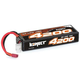 KONECT LiPo 4200mah 11.1V 40C 3S1P 46,6Wh (T-Dean )