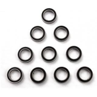 Kuličkové ložisko 15x10x4mm (10ks)