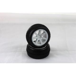 VTEC 1/10 nalepené gumy (2ks.) - S10 TX - zadní