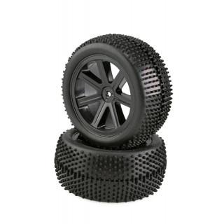 VTEC 1/10 nalepené zadní gumy (2 ks) S10 Blast BX 2