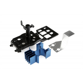 LRP SkyChopper - hlavní šasi včetně motorů a chladičů