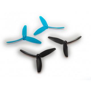 LRP H4 Gravit Micro 2.0 Quadrocopter 2,4 GHz - náhradní vrtulky ( 2x černé, 2x modré)