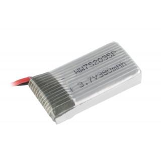 LRP Gravit Micro Vision - náhradní LiPo 3,7V 380mAh