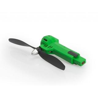 Zelené rameno včetně motoru a vrtule (CW, zelená LED) - Gravit Dark Vision