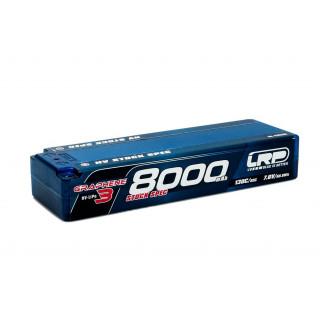 HV Stock Spec GRAPHENE-3 8000mAh Hardcase Akku - 7.6V LiPo - 130C/65C