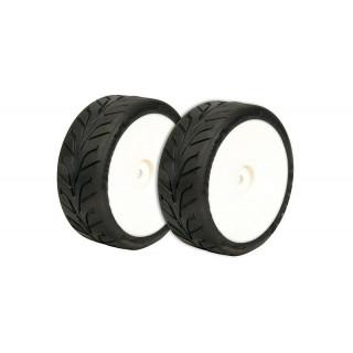 VTEC vodní Dunlop D20 1/10 bezd. pneumatiky nalepené 2ks.
