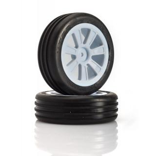 VTEC Groove 2WD přední nalepené gumy - 1/10 Buggy J-směs