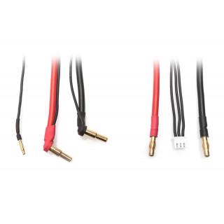 Univerzální nabíjecí kabel - 2S LiPo HARDCASE z G4 na P5 včetně balančního adaptéru XH