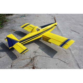 "65"" Turbo Duster - žlutá/modrá 1,65m"