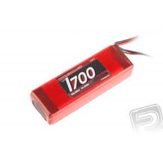 XTEC LiFePo 1700 RX-Pack 2/3A Hump – RX – 6.6V