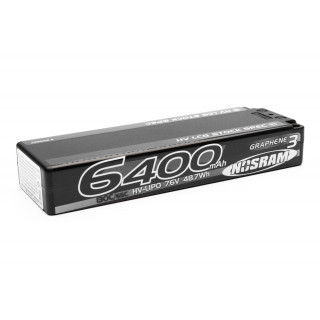 HV LCG Stock Spec GRAPHENE-3 6400mAh Hardcase Akku - 7.6V LiPo - 120C/60C